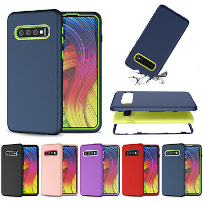 For Samsung Galaxy S9 S10 /Plus New 360 Shockproof Bumper Heavy Duty Rugged Case