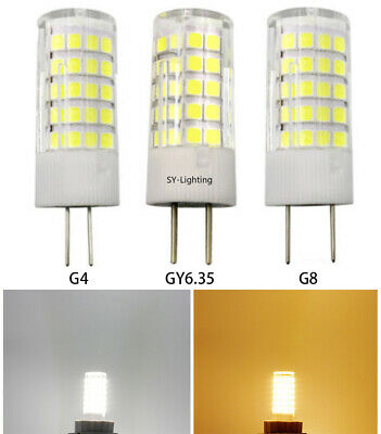 LED Dimmable Bulb 7W 136pcs 5730SMD Silicone Light 70W Equivalent GY6.35 GX6.35