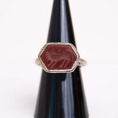 Bague Intaglio, taille-douce, intaille