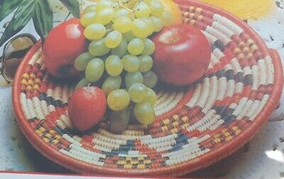 Vintage Macrame Raffia and Pattern How to Design  Bowls and mats Reproduced