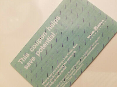 (10) Taco Bell & (10) Subway Combo meal Vouchers  FAST SHIPPING!