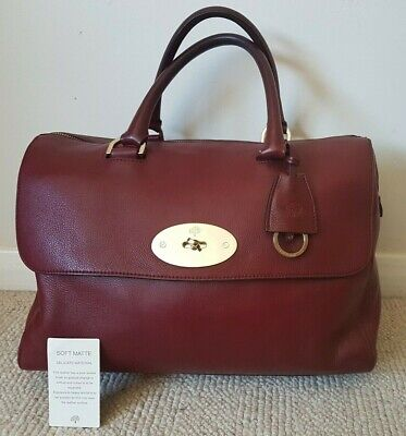 Fantastic Condition-Authentic Mulberry Black Forest Del Rey -Care Card & Dustbag