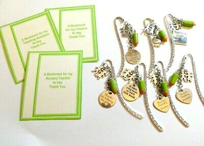 Thank you gift for Teacher / Teaching Assistant / Nursery Teacher of Bookmark