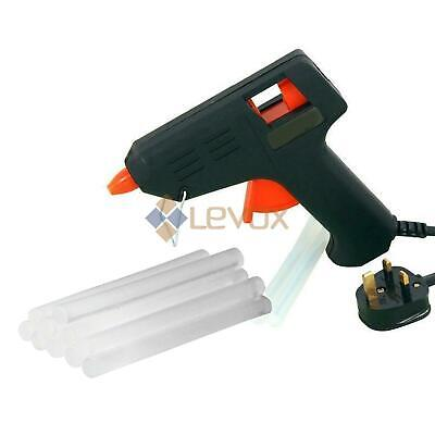 Hot Melt Glue Gun Electric With Adhesive 7mm Glue Sticks Hobby Craft DIY Mini