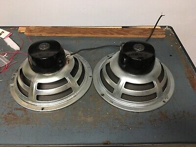 "pair vintage GE General Electric full range 1201D   12"" S1201D7 early-mid 1950's"