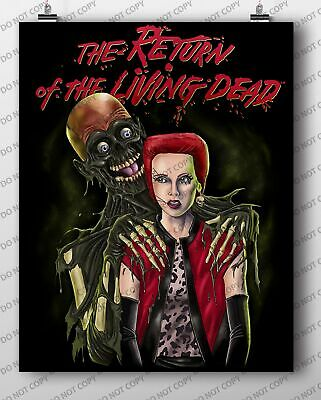Return of The Living Dead - Trash and Tarman Poster