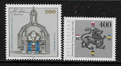 Germany #1891 and #1902 MNH Stamps