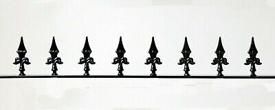 Decorative Steel/Wrought Iron Wall or Fence Topper