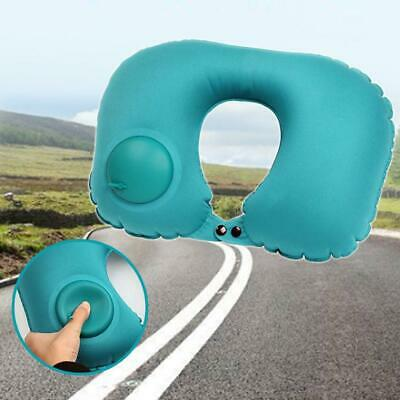 New Travel Inflatable Portable Soft U-shaped Pillow for Home Office Car WT88 04