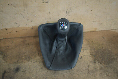 BMW 3 Series M Sport Gear Knob and Leather Gaitor 6 Speed