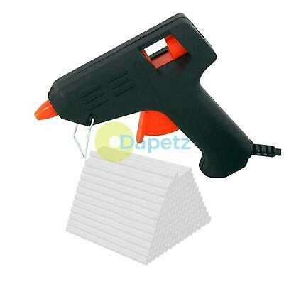 Glue Gun +120x Glue Sticks 7mm Hot Melt Electric Heating Hobbycraft Adhesive DIY
