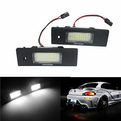 FOR BMW 6 SERIES F12 F13 2011 On 24 LED NUMBER PLATE LIGHT LAMP PAIR