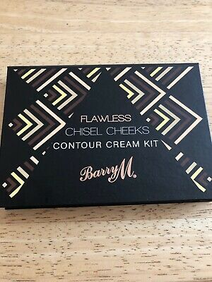Barry M Flawless Chisel Cheeks Contour Cream Kit new