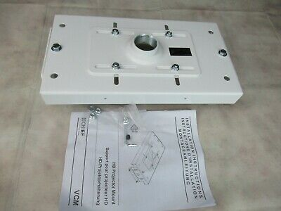 Chief Projector Heavy Duty Ceiling Mount Hardware White (Open Box)