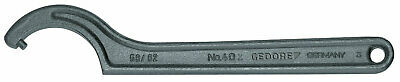 Gedore 6336740 Hook wrench with pin, 34-36 mm