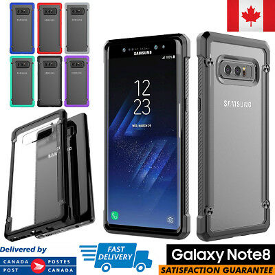 For Samsung Galaxy Note 8 Case Hybrid TPU + PC ShockProof Protective Cover
