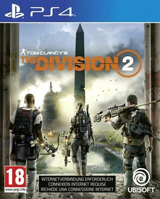 Tom Clancy's The Division 2 -- Standard Edition (Sony PlayStation 4, 2019) NEW