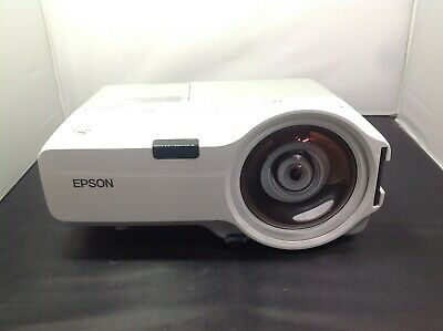 EPSON POWERLITE 410W H330A 3LCD LCD Multimedia Projector up