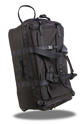 Rapid Deployment SK7 Tactical Rolling Duffel Bag Black