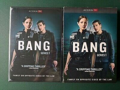 Bang: Series One 1, FACTORY SEALED, 3 DVDs, SLIPCOVER, FREE SHIP, Ohio Seller
