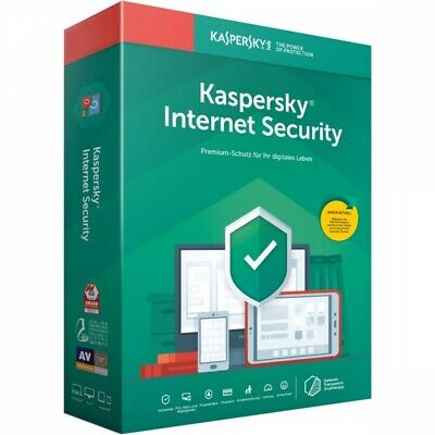 Kaspersky Internet Security 2020 | 1 Gerät | 1 Jahr | 1 Device | 1 Year