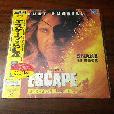 Laserdisc - Escape From L.A. PILF-2417  Japan Release