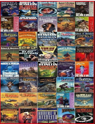 Robert A. Heinlein Collection(MP3) 100 pack Audiobook📧⚡Email Delivery(10s)⚡📧