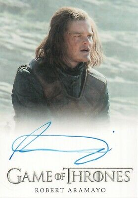 Game of Thrones Season 7, Robert Aramayo 'Young Ned Stark' Autograph Card