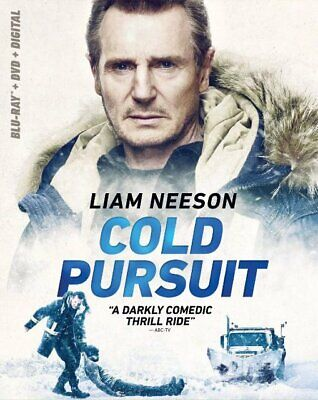 COLD PURSUIT (DVD, 2019) DVD ONLY From The Blu-Ray/DVD Combo Pack