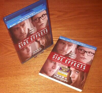 SIDE EFFECTS Blu-ray US import region a free abc (rare OOP slipcover slipcase)