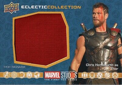 Marvel The First Ten (10) Years, Thor Costume Memorabilia Card EC-7