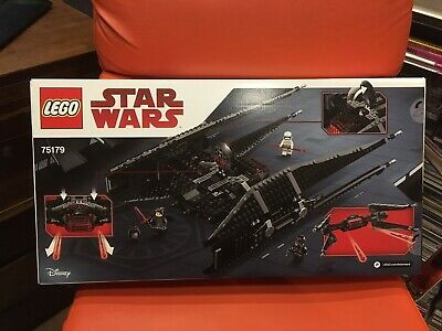 Brand New Retired Lego Star Wars 75179 Kylo Ren's Tie Fighter Sealed Freepost