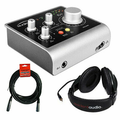 Audient iD4 High-Performance USB Audio Interface w/Headphones & XLR Cable