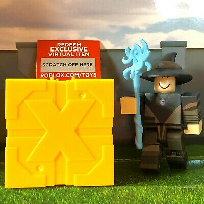 Roblox HEXARIA ELITE MAGE Series 4 5 Yellow Gold Blind Box Toys+New Unused Codes