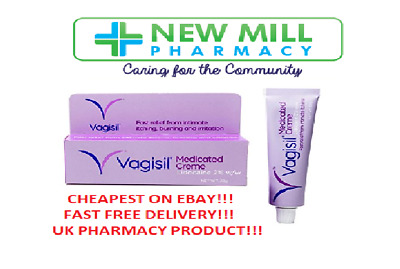Vagisil Medicated Cream For Fast Relief From Feminine Itching! Multibuy!