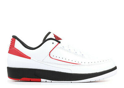 more photos b011c 9efd8 Nike Air Jordan 2 Retro Low 832819-101 Chicago White Black Red Men s DS NEW