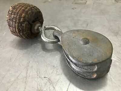 Vintage Block and Tackle/ Pulley