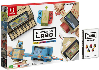 NEW Nintendo LABO Variety Kit For Nintendo Switch NS FAST FREE POSTAGE