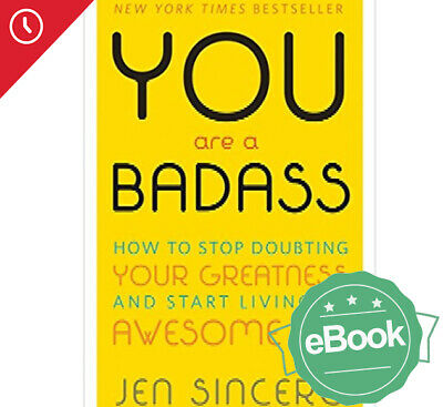 📚You Are A Badass by Jen Sincero (eBooks, 2018)