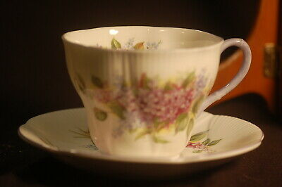Royal Albert Blossomtime Lilac  Cup and Saucer