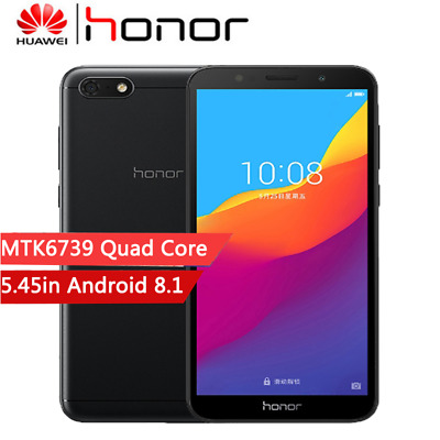 """HUAWEI Honor 7s 5.45"""" 18:9 Smartphone 2GB+16GB Android 8.1 Dual Cam 4G Téléphone"""
