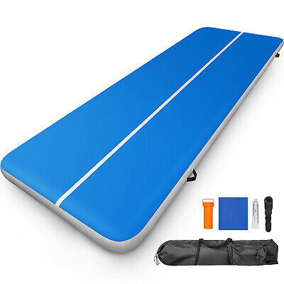 Air Track 4M Airtrack Floor Tumbling Inflatable Gymnastics Yoga Mat Fitness Home