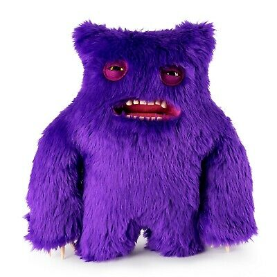 f51c4fcb18ecb5 Spin Master FUGGLER Funny Ugly Monster Purple Clawey Deluxe 12 inch Rare New