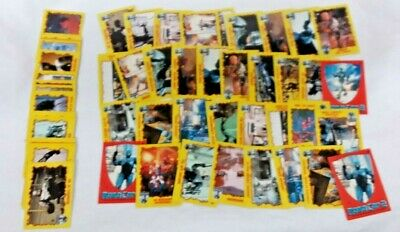 Topps Robocop 2 Collectible Trading Card Lot of 65+ Cards Wax Pack Bubble Gum