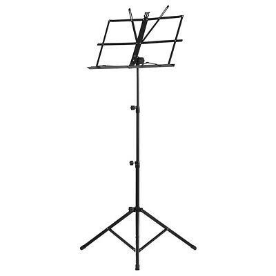 Foldable Sheet Music Tripod Stand Holder Lightweight with Water-resistant T3H4