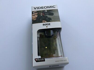 NEW - Rode VideoMic with Rycote Lyre Suspension System