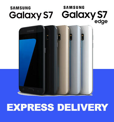 AS NEW Samsung Galaxy S7 S7 Edge 32GB SMG930 Unlocked Genuine Smartphone