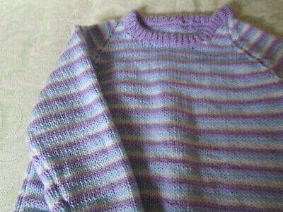 childrens hand knitted jumper
