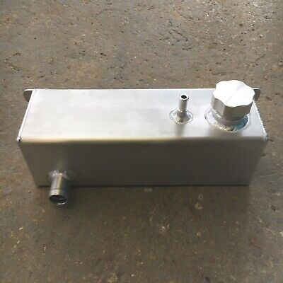 Universal 4 Inch Square Overflow Catch Tank Radiator Coolant Expansion  UK Made