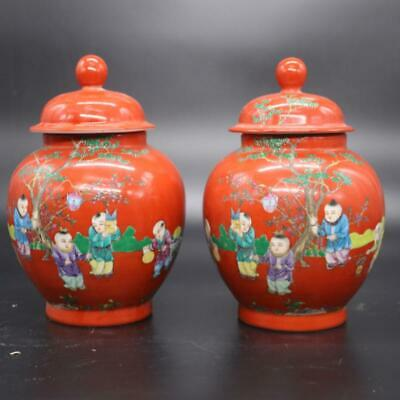 Emperor Yongzheng of the Qing Dynasty made enamel-covered baby opera cans.